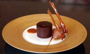 Heston Blumenthal tasting menu