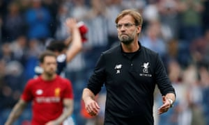 Jürgen Klopp shows his displeasure at some of the decisions at the final whistle, and his anger continued in the post-match interviews