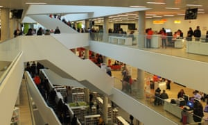 The Halifax Central Library is a focal point for the city.