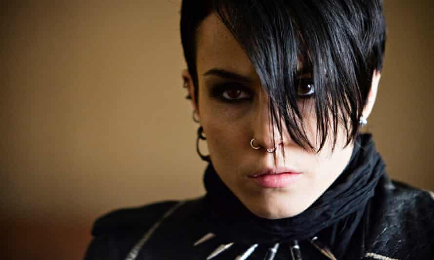 Lisbeth Salander (Noomi Rapace) in The Girl With The Dragon Tattoo