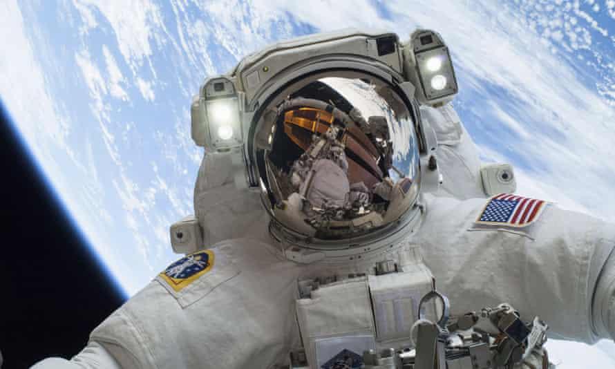 Astronaut Mike Hopkins