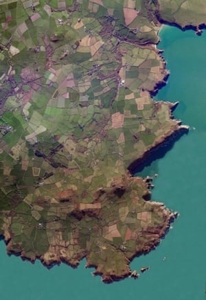 Pembrokeshire county in the south west of Wales