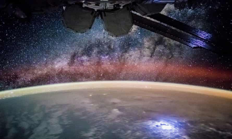 Earth and stars as seen from the International Space Station, 17 May 2016.