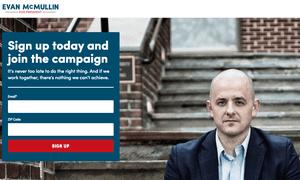 Evan McMullin for President website