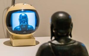 TV Buddha, 1974 by Nam June Paik at Tate Modern.