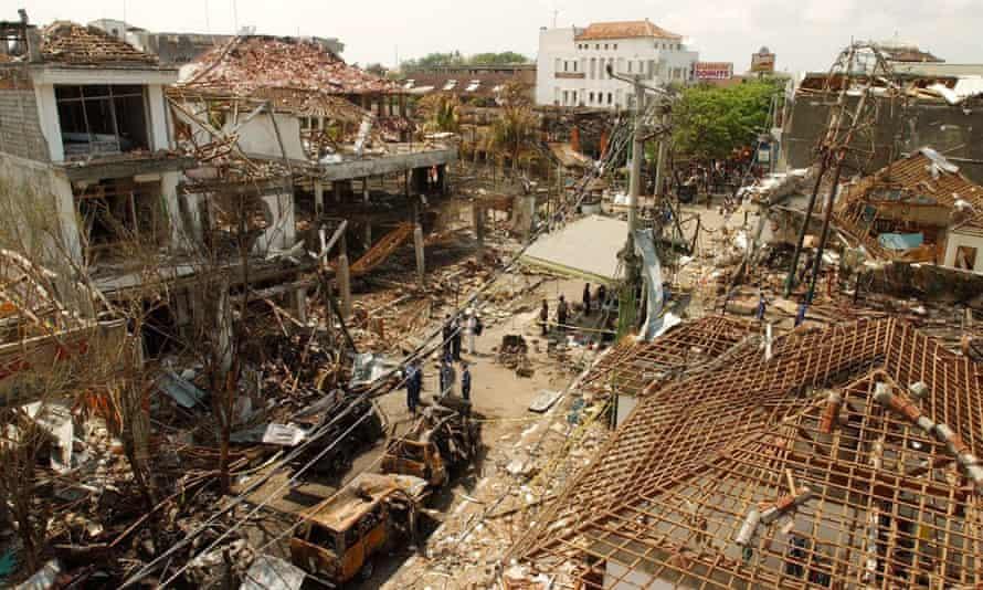 The 2002 Bali bombings killed 202 people