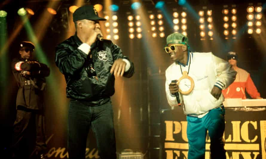 Chuck D and Flavor Flav on stage in happier times.