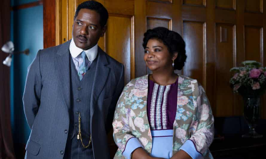 Octavia Spencer and Blair Underwood in new Netflix show Self Made: Inspired by the Life of Madam CJ Walker.