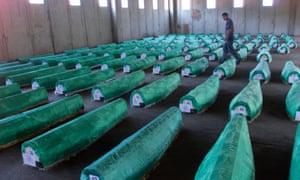 Victims of the Srebrenica massacre