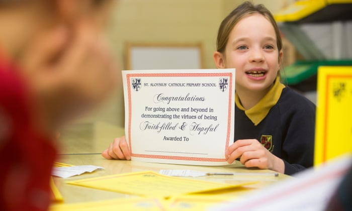 Star of the Week … do some primary school rewards do more
