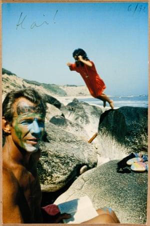 Ode to Yves Klein, Peter and Zara Beard, Montauk, 1993