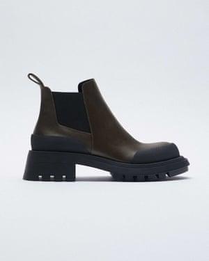 Track soles, £79.99, zara.com