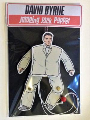 David Byrne jumping jack puppet