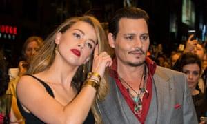 Johnny Depp and Amanda Heard