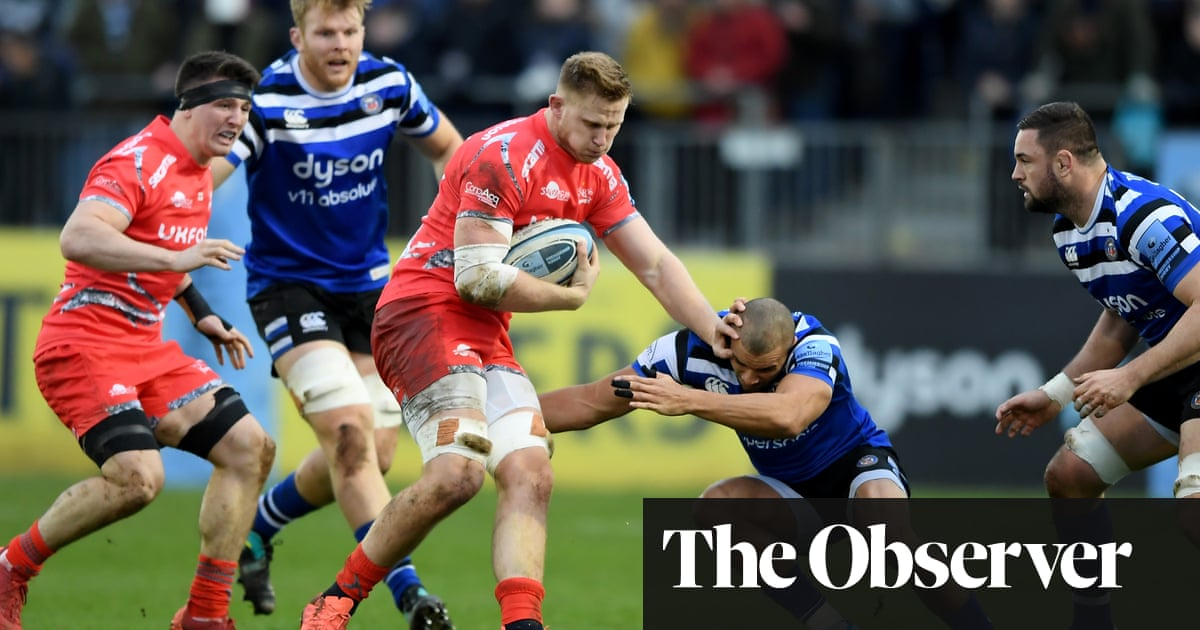 Jonathan Joseph and Rhys Priestland help Bath hold off Sale fightback