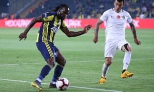 Victor Moses has helped transform the fortunes of Fenerbahce who were in danger of relegation when he joined on loan from Chelsea in January.