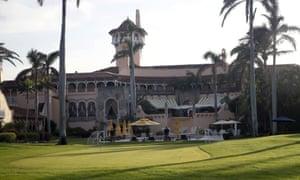 Donald Trump's Mar-a-Lago resort in Palm Beach, Florida