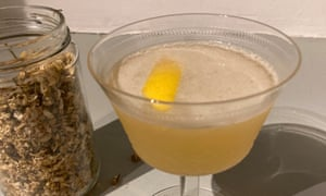 Cocktail hour: shake up the evening drink with something zesty.