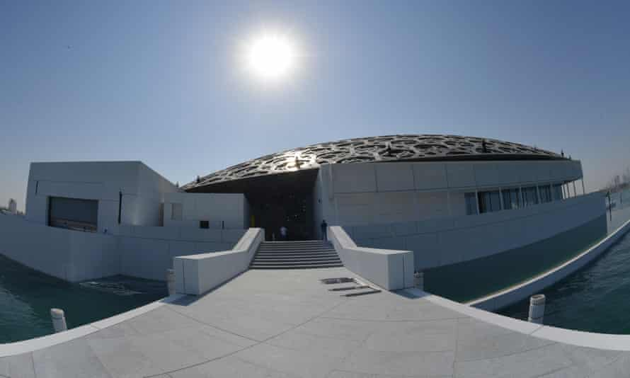 The Louvre Abu Dhabi Museum.