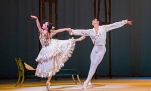 Making dramatic gold out of schmaltz … Alessandra Ferri and Federico Bonelli in Marguerite and Armand.