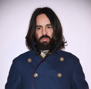 Alessandro Michele in Milan earlier this year.