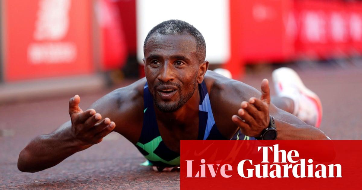 London Marathon 2021: Lemma wins men's race, Jepkosgei takes women's event – as it happened