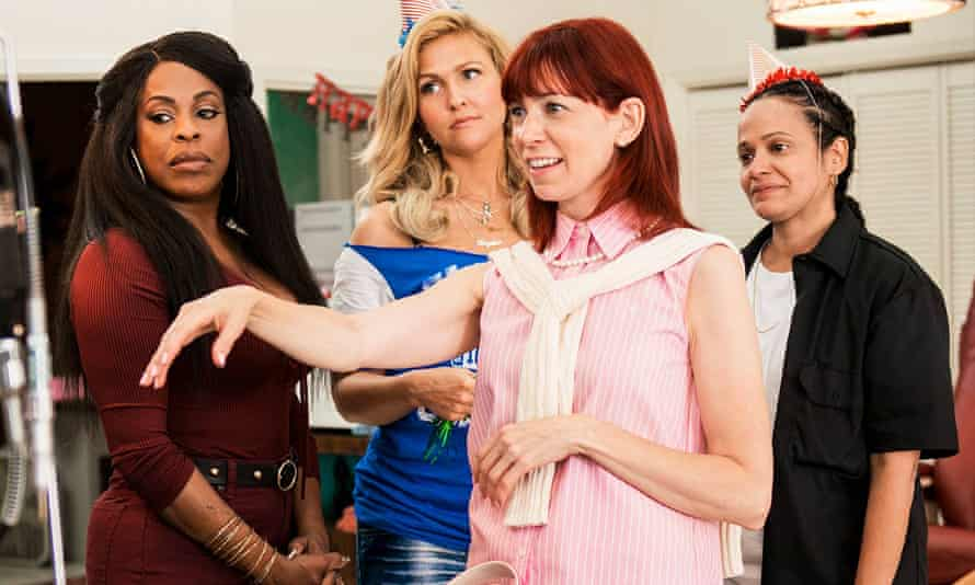 Niecy Nash, Jenn Lyon, Carrie Preston and Judy Reyes in Claws.