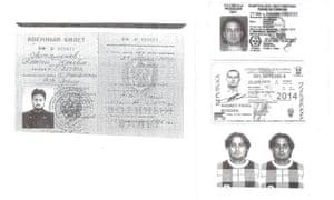 Russian spy documents