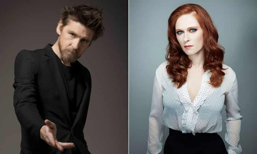Paul Anderson and Audrey Fleurot