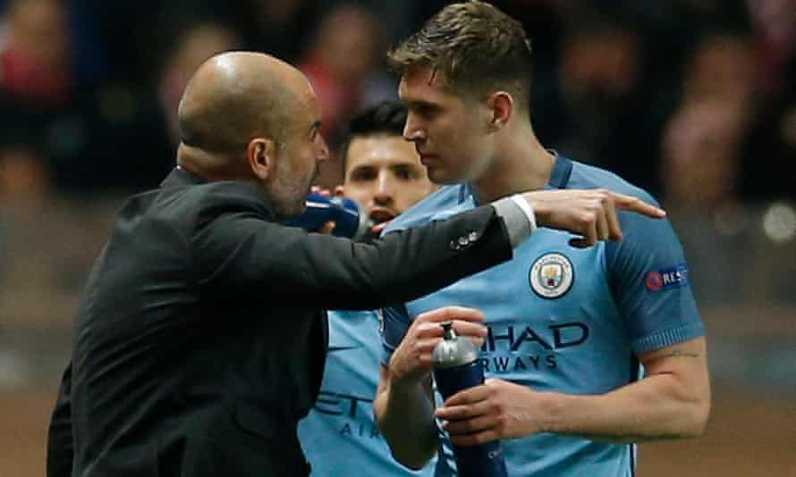 Stones has improved under Pep Guardiola's guidance