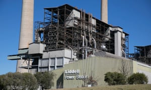 Liddell power station in the Hunter Valley
