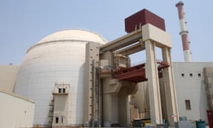An Iranian nuclear power plant in 2010