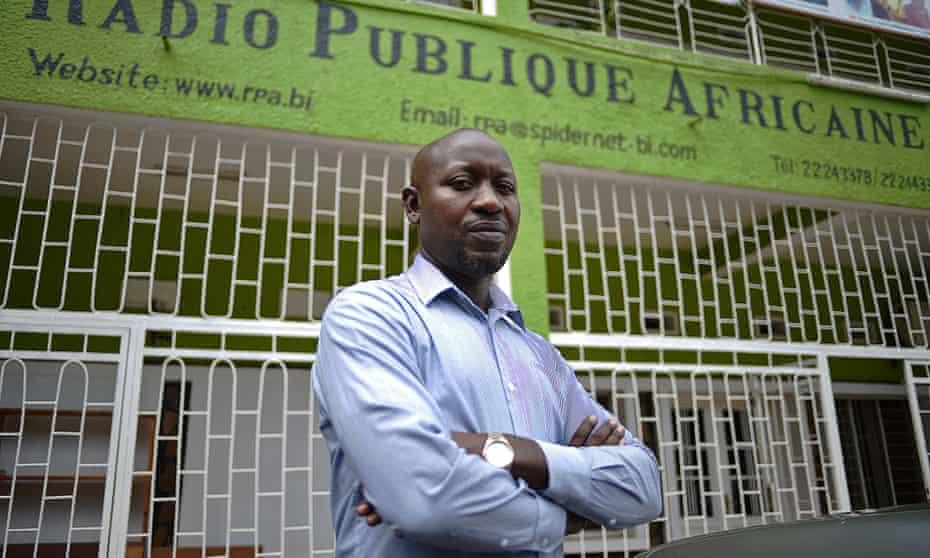 Bob Rugurika, one of the leading investigateive journalists in Burundi