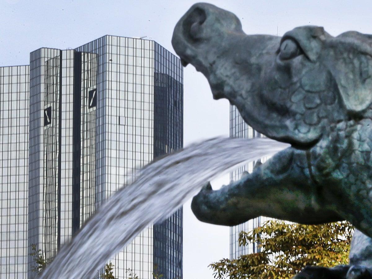 Bank scam deutsche Deutsche Bank′s