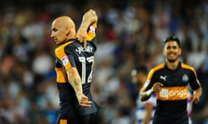 Jonjo Shelvey says he is not the same person he was before he joined Newcastle