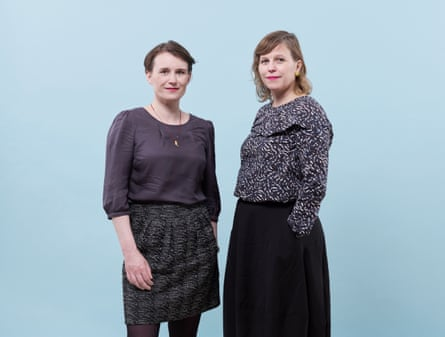 Sisters Hilde (left) and Ylva Ostby.