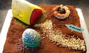 Jan Raposa's camping cake