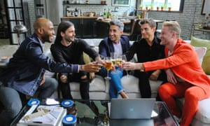 Queer Eye hosts: Karamo Brown, Jonathan Van Ness, Tan France, Antoni Porowski, Bobby Berk