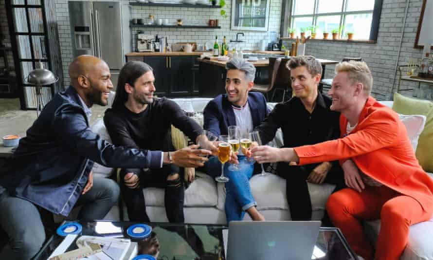 Queer Eye's five hosts
