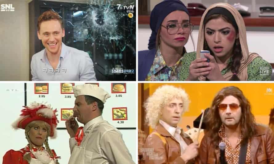 Versions of Saturday Night Live around the world.