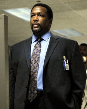 Wendell Pierce as Bunk Moreland in The Wire.