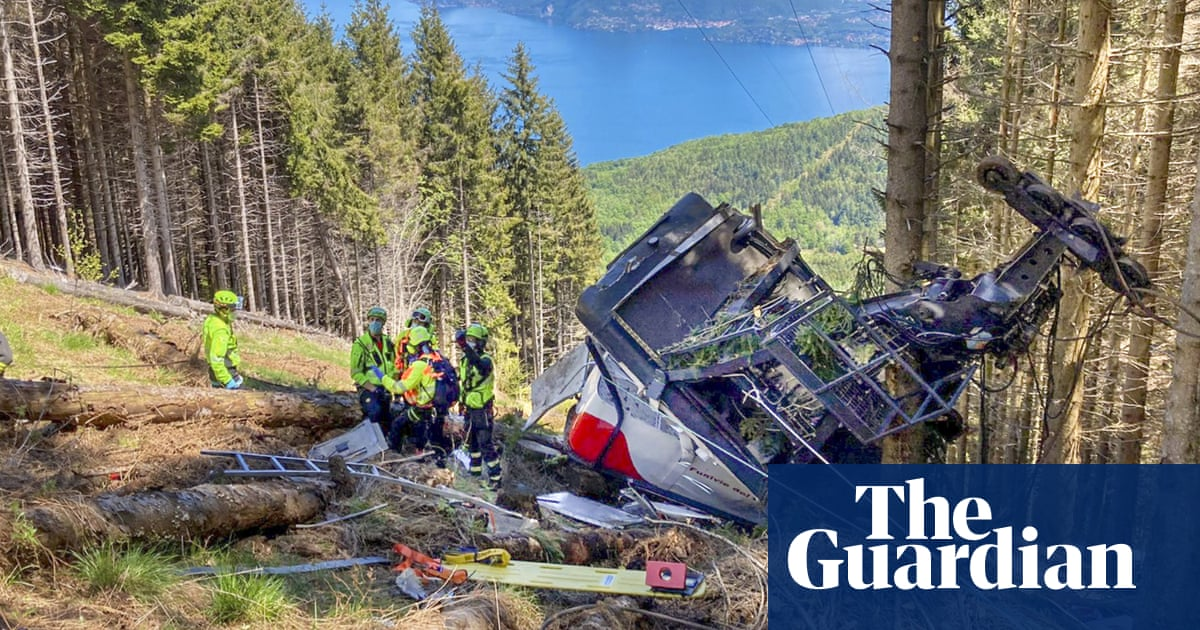 Italy cable car crash detainees released from prison