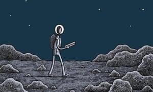 Mooncop by Tom Gauld (Drawn & Quarterly)