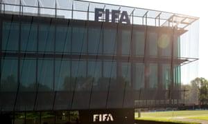 The Fifa headquarters in Zurich, Switzerland.