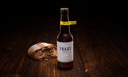 Bottle of Toast ale