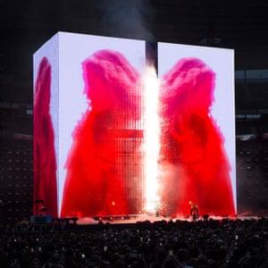 Beyonce's Formation tour in Paris.