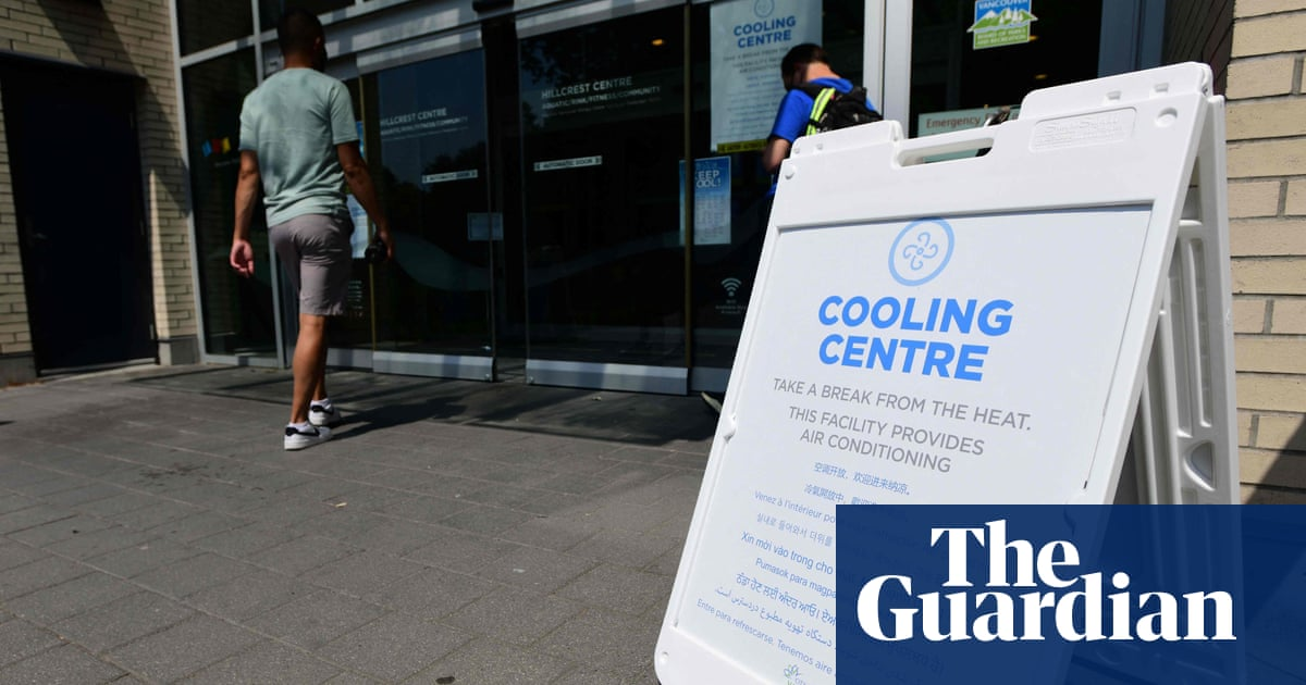 Record heatwave may have killed 500 people in western Canada