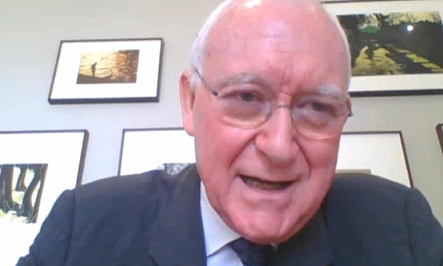 Former BBC director general John Birt.