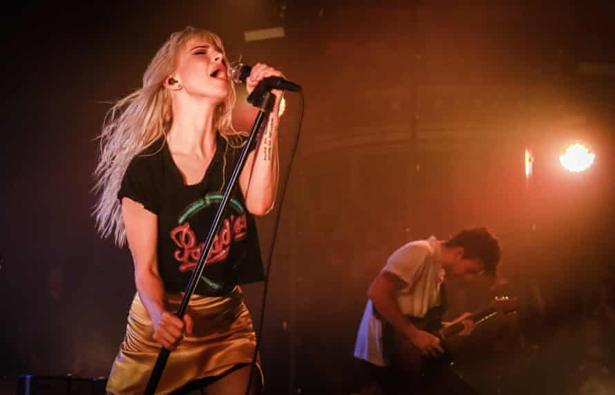 'Pinch me' moment … Paramore in 2017.