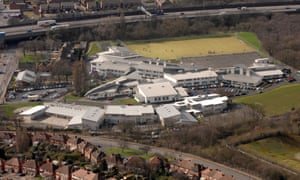 An aerial view of the first Perry Beeches academy, where Liam Nolan became headteacher in 2007.